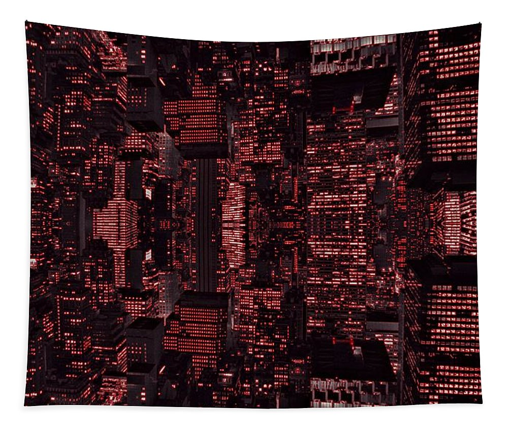 Architect Of The Future Tapestry featuring the photograph Architect Of The Future by Dan Sproul