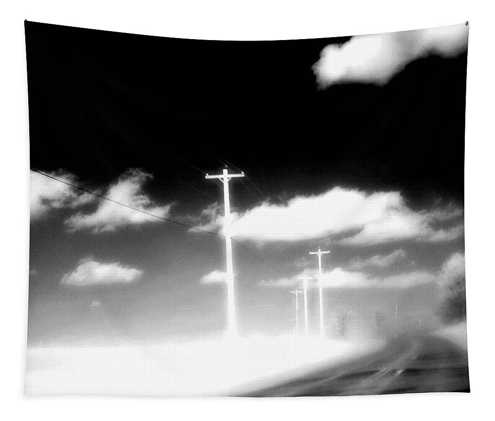 Infrared Tapestry featuring the photograph Infrared Highway by Gothicrow Images