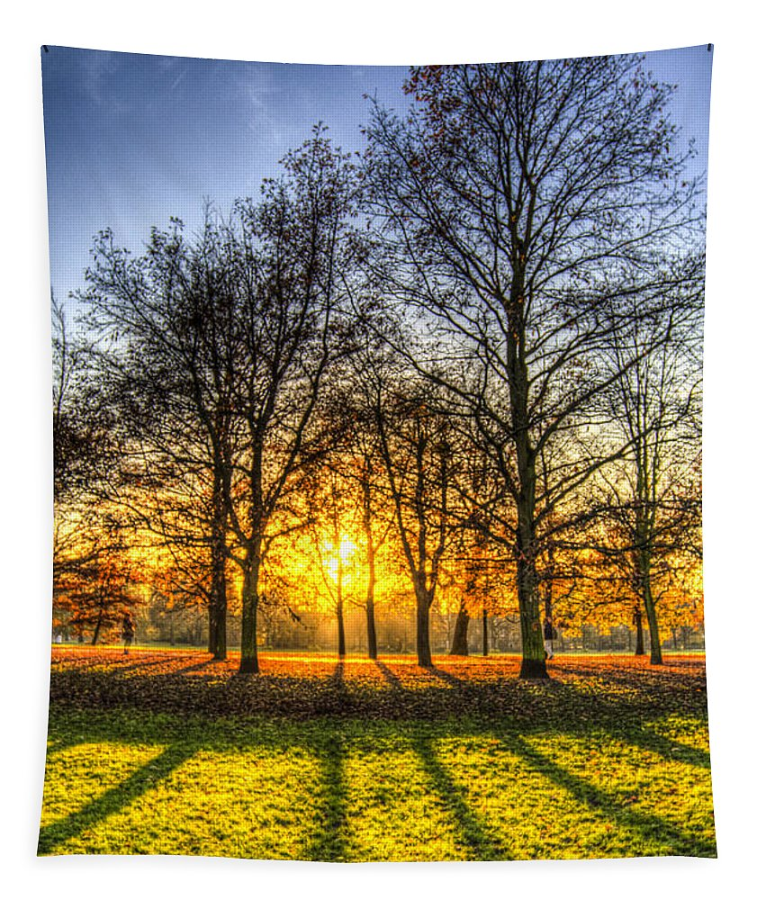 Autumn Tapestry featuring the photograph Autumn Arrives by David Pyatt