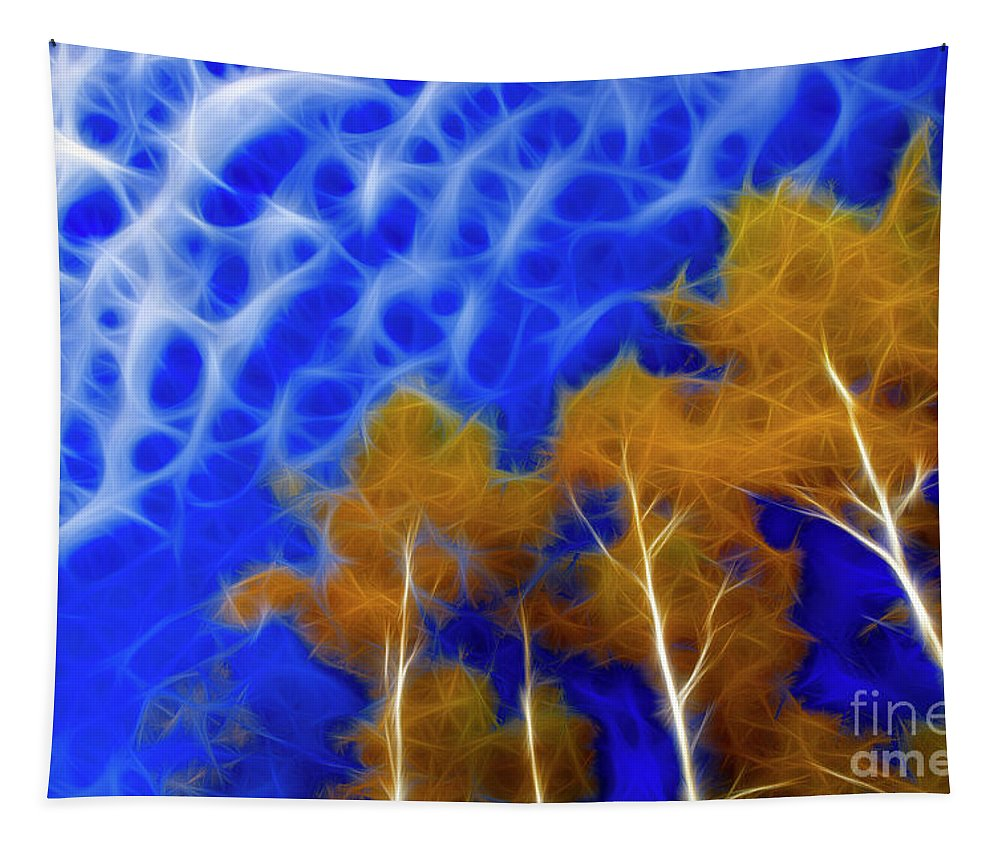 Color Tapestry featuring the photograph Autumn by Bob Christopher
