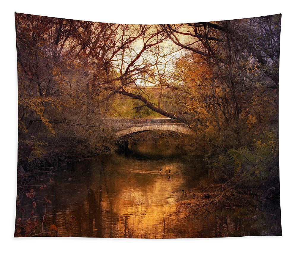 Autumn Tapestry featuring the photograph Autumn Finale by Jessica Jenney