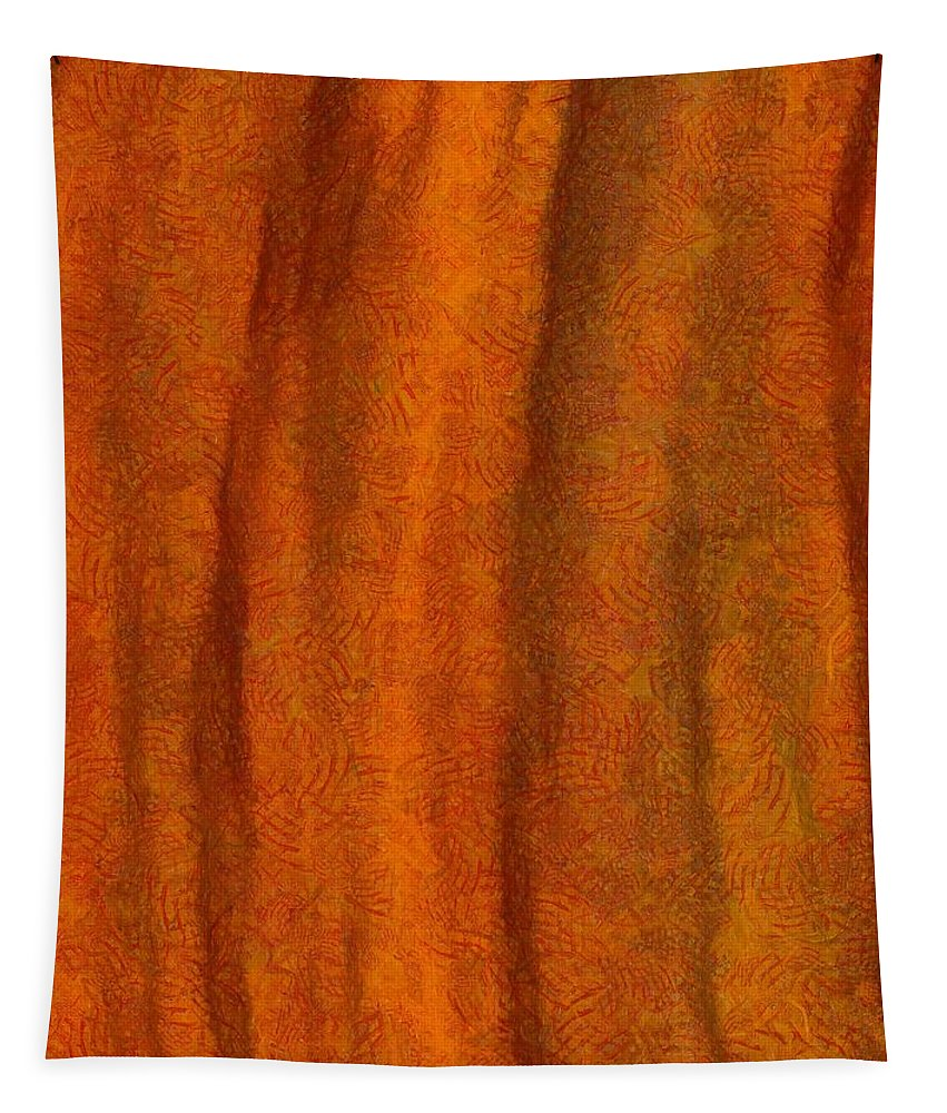 Autumn Number Three Tapestry featuring the painting Autumn Number Three by Dan Sproul