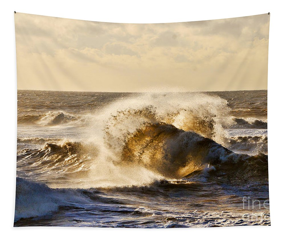 Backwash Tapestry featuring the photograph Backwash by Susie Peek