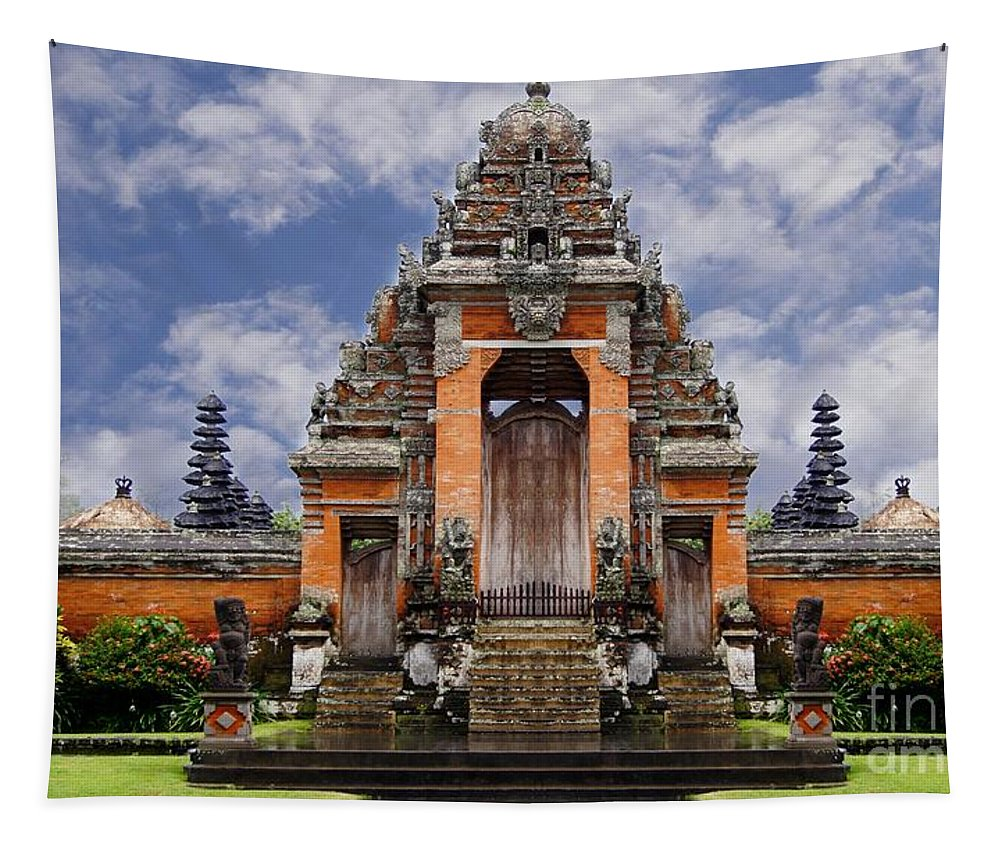 Bali Tapestry featuring the photograph Bali by Ben Yassa