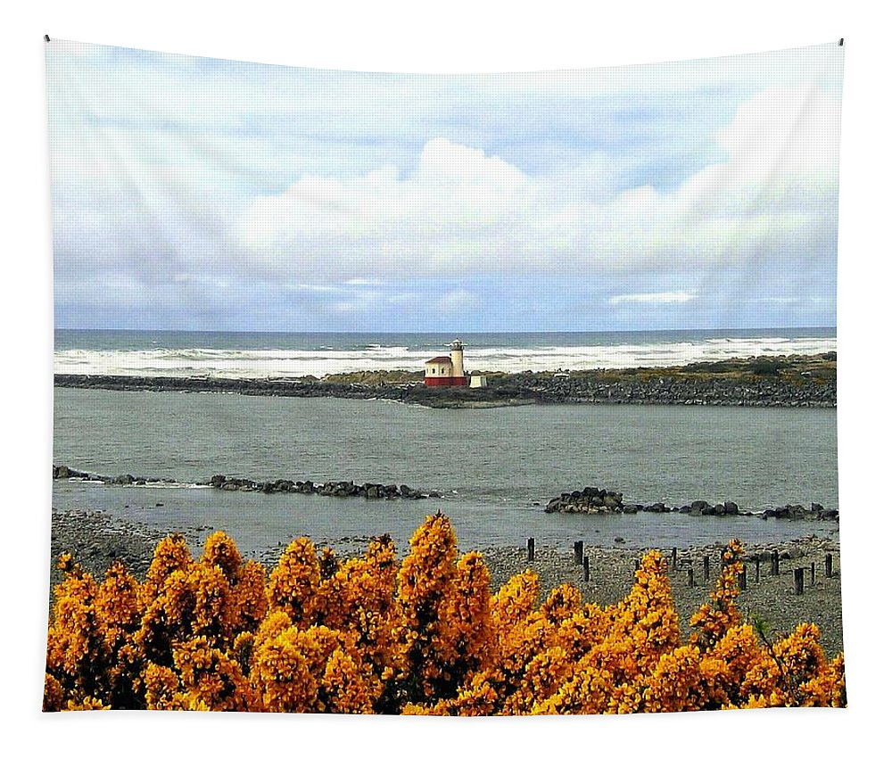 Bandon Tapestry featuring the photograph Bandon 96 by Will Borden