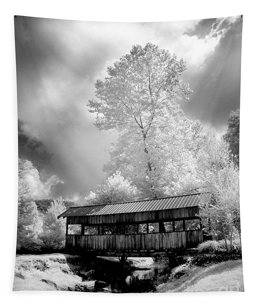 Infrared Tapestry featuring the photograph Bathed In Light by Paul W Faust - Impressions of Light