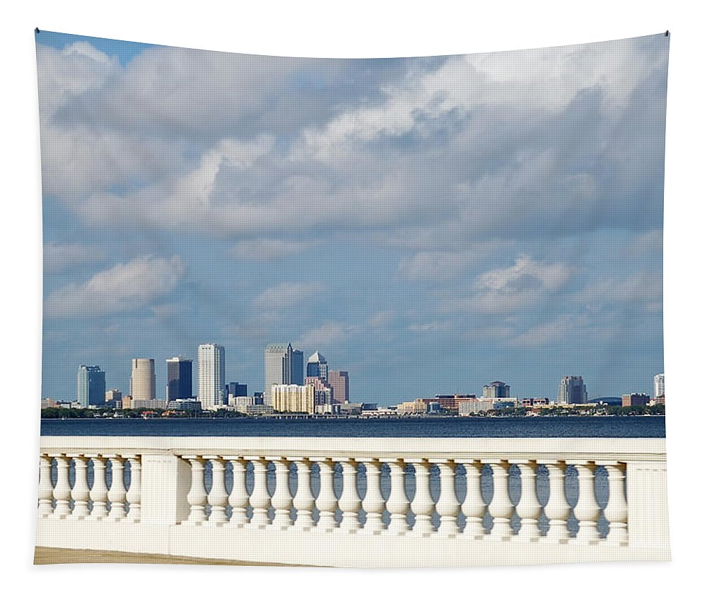 City Tapestry featuring the photograph Bayshore by Aimee L Maher ALM GALLERY