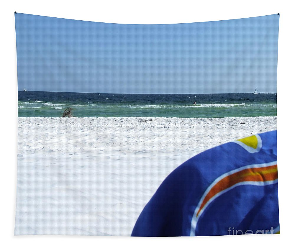 Beach Tapestry featuring the photograph Beach Life by Andrea Anderegg