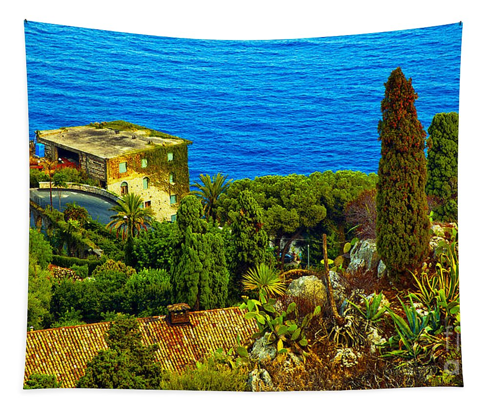 Landscape Tapestry featuring the photograph Beautiful Sicily by Madeline Ellis