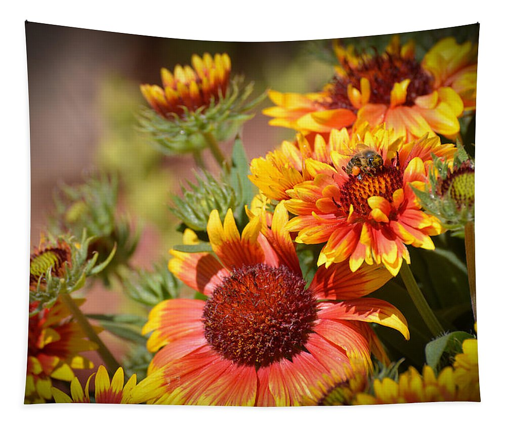 Texas Tapestry featuring the photograph Beauty In The Garden by Lynn Bauer