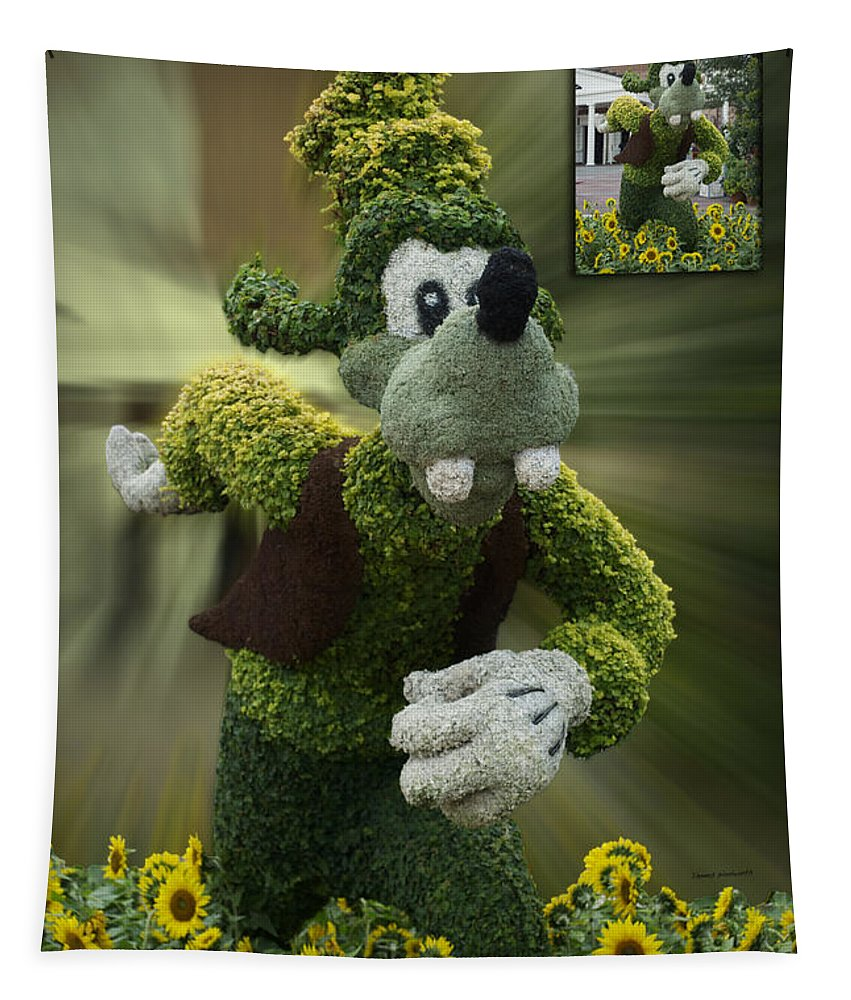 Fantasy Tapestry featuring the photograph Before And After Sample Art 26 Goofy by Thomas Woolworth