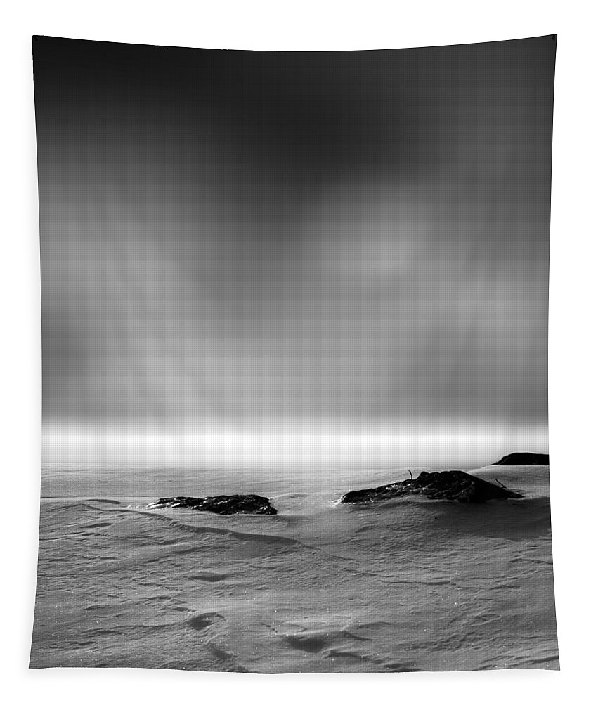 Winter Tapestry featuring the photograph Before Sunrise by Bob Orsillo
