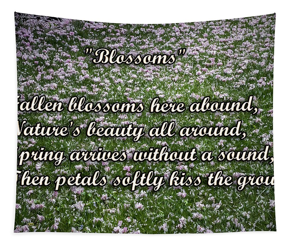 2d Tapestry featuring the photograph Blossoms by Brian Wallace