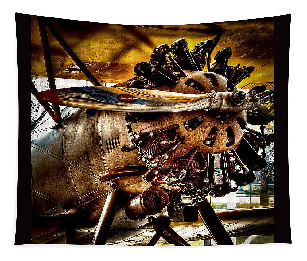 Boeing Model 100 Tapestry featuring the photograph Boeing Model 100 by David Patterson