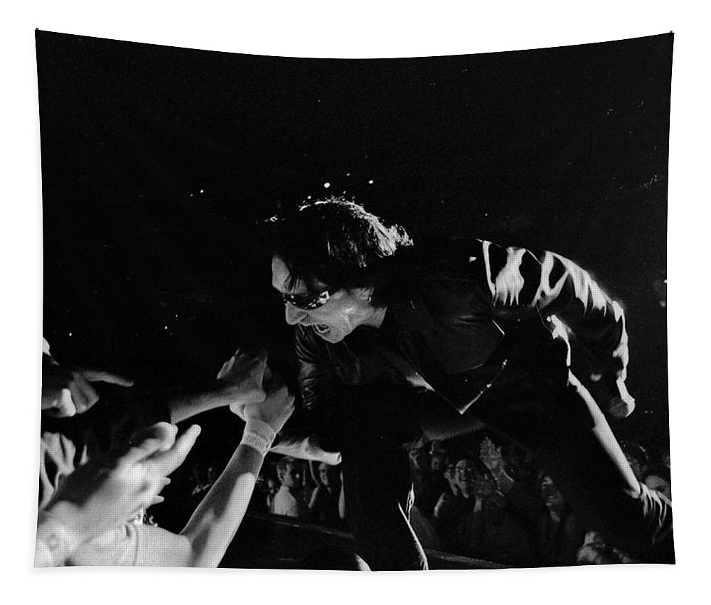 Bono Tapestry featuring the photograph Bono 051 by Timothy Bischoff
