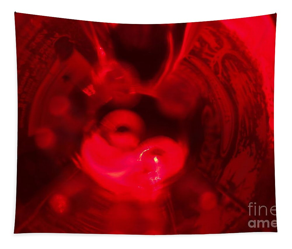 Beverage Tapestry featuring the photograph Bottoms Up 1 by Jacqueline Athmann
