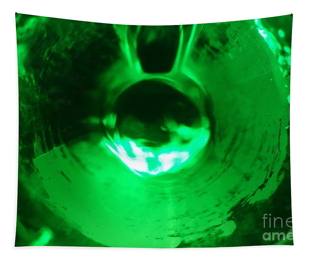 Beverage Tapestry featuring the photograph Bottoms Up 4 by Jacqueline Athmann