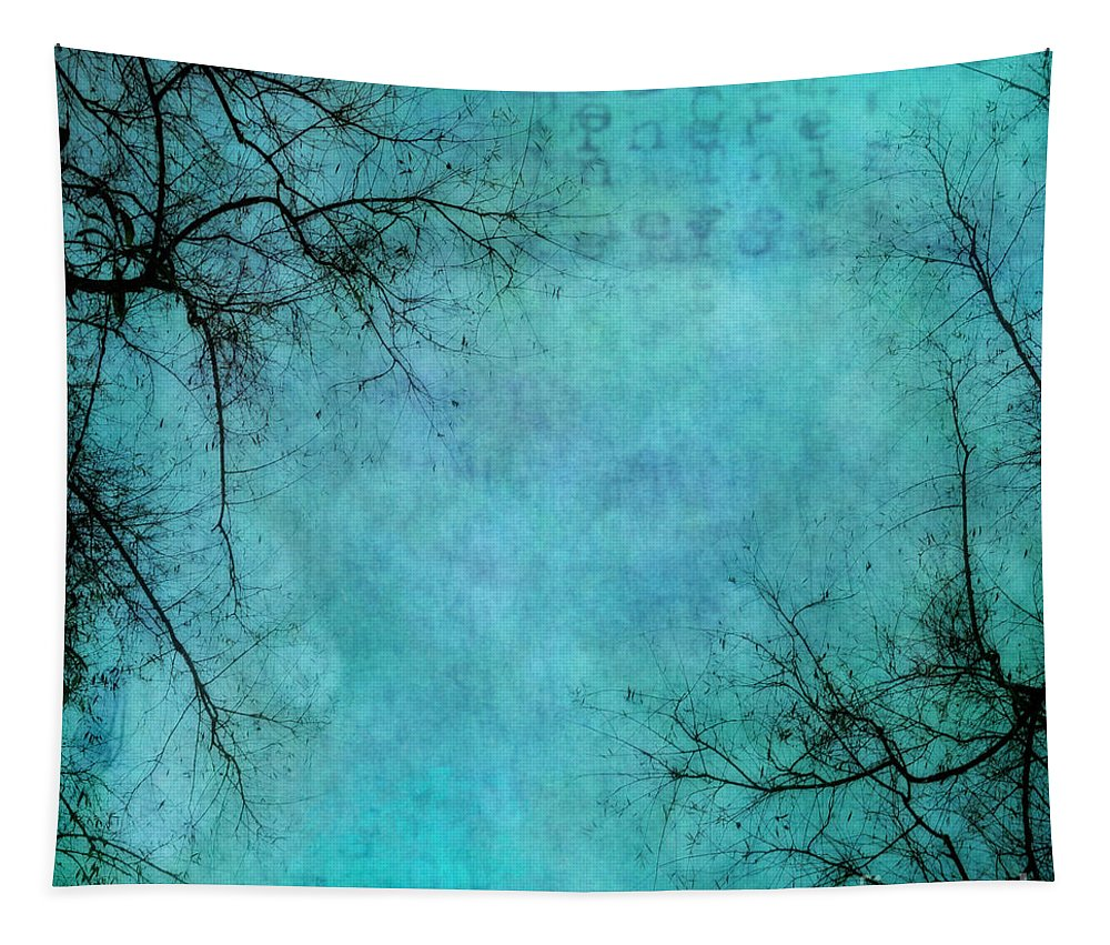 Branches Tapestry featuring the photograph Branches by Priska Wettstein
