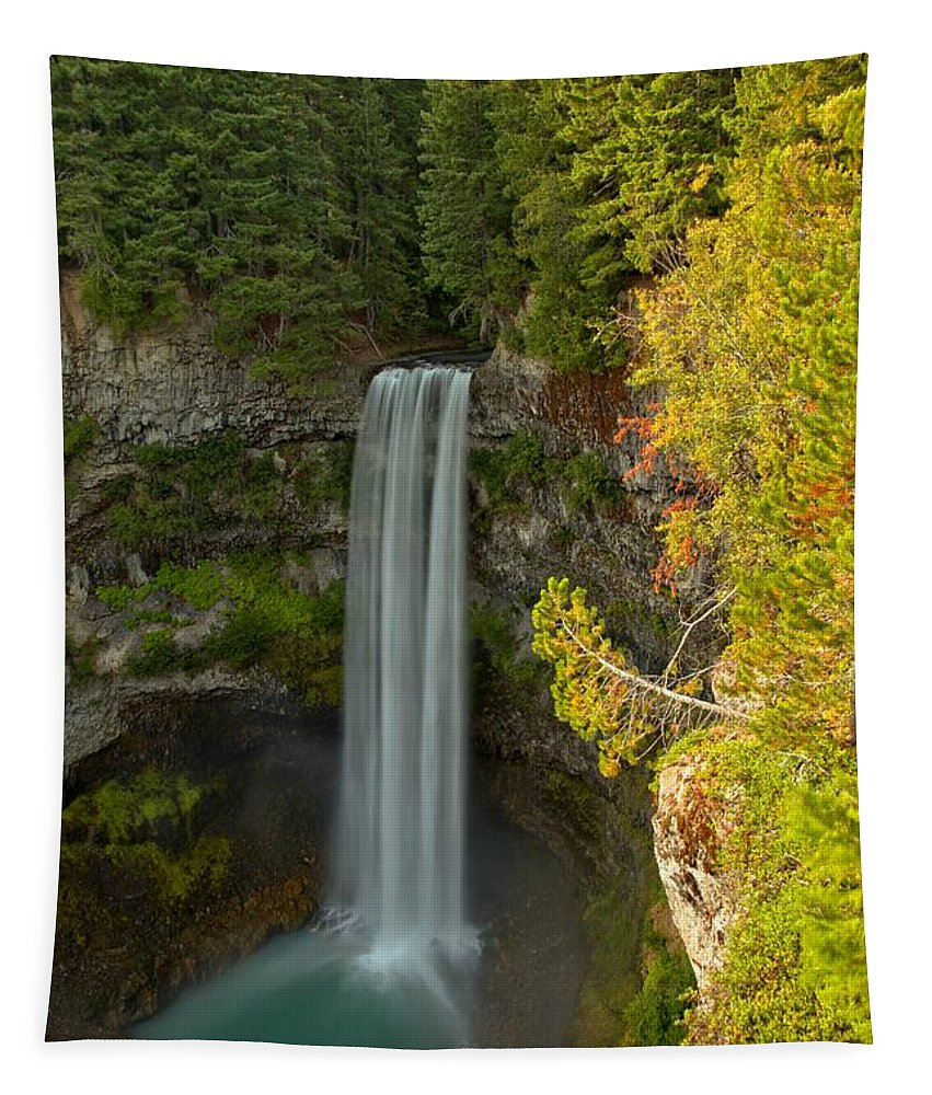 Brandywine Falls Tapestry featuring the photograph Brandywine Falls Provincial Park by Adam Jewell