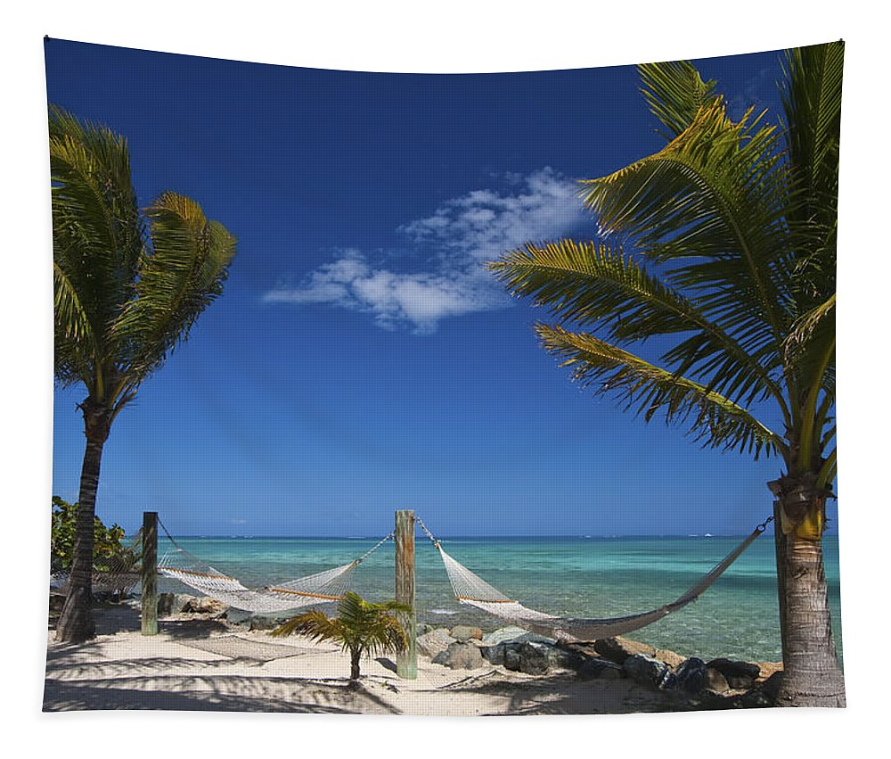 3scape Tapestry featuring the photograph Breezy Island Life by Adam Romanowicz
