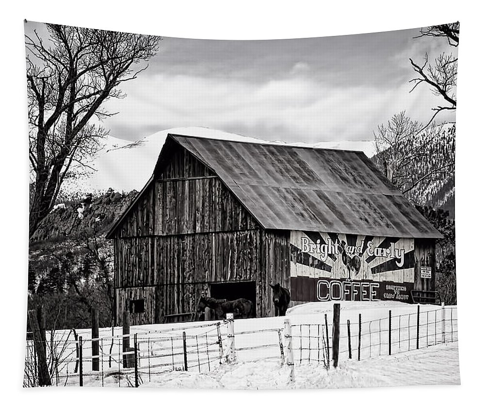 Tapestry featuring the photograph Bright And Early by Priscilla Burgers