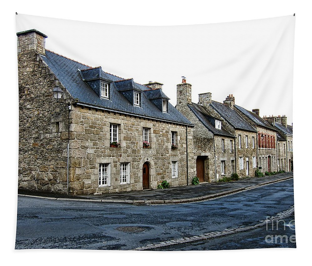 France Tapestry featuring the photograph Brittany by Olivier Le Queinec