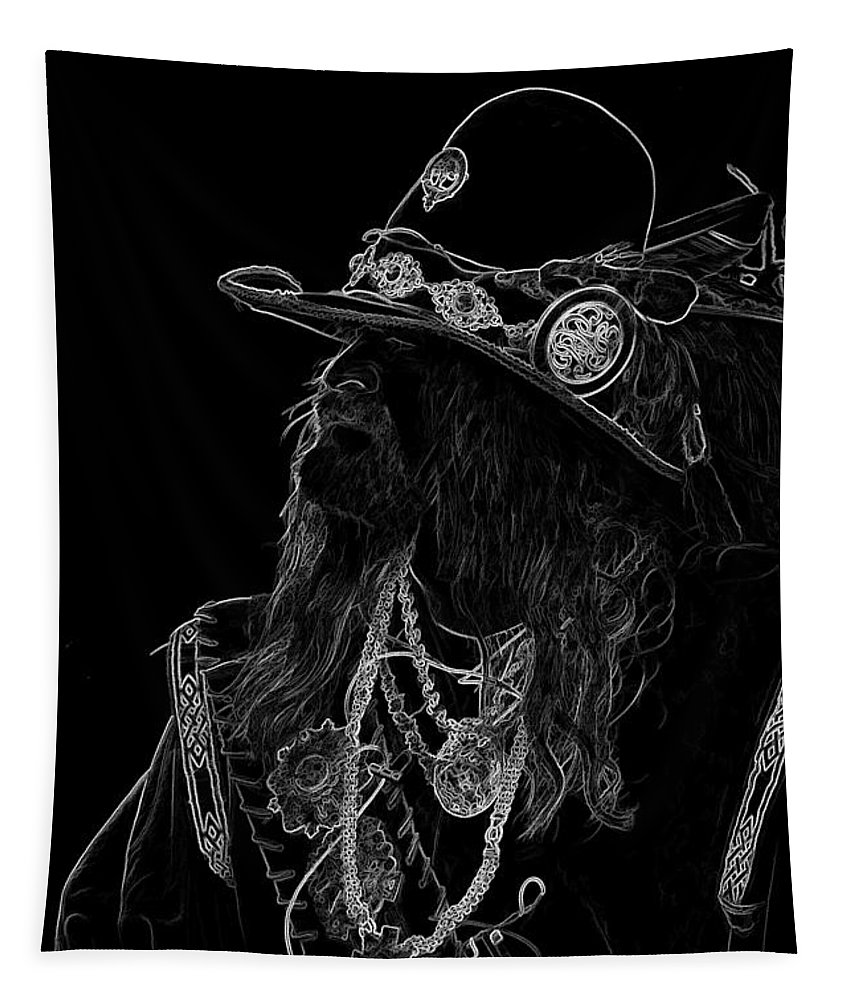 Buccaneer Tapestry featuring the photograph Buccaneer by Wes and Dotty Weber