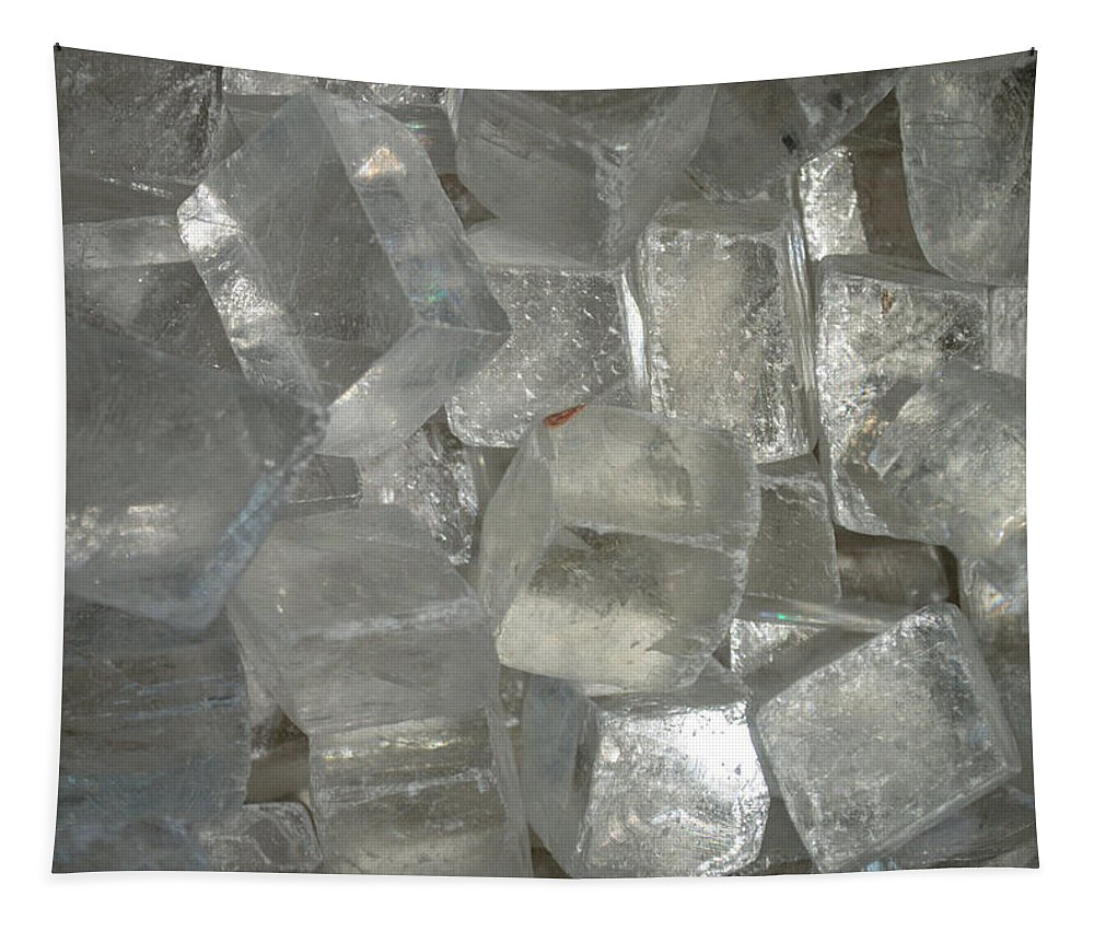 Calcite Crystals Tapestry featuring the photograph Calcite Crystals by Tikvah's Hope