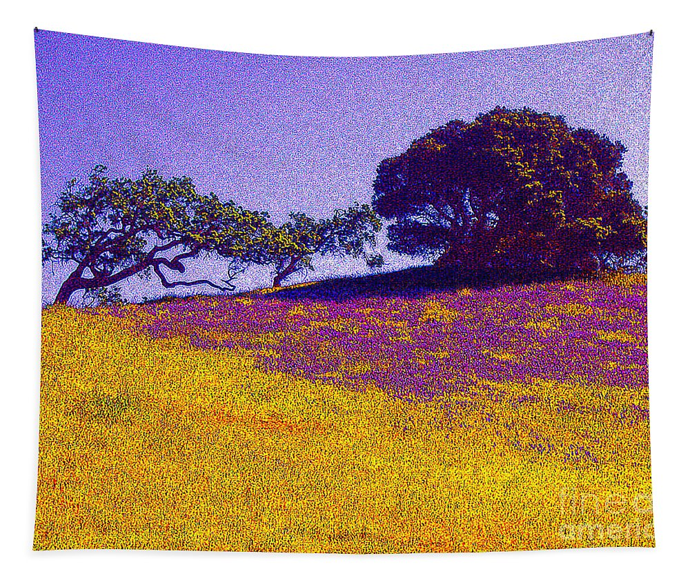 California Tapestry featuring the photograph California Hills by Jerome Stumphauzer