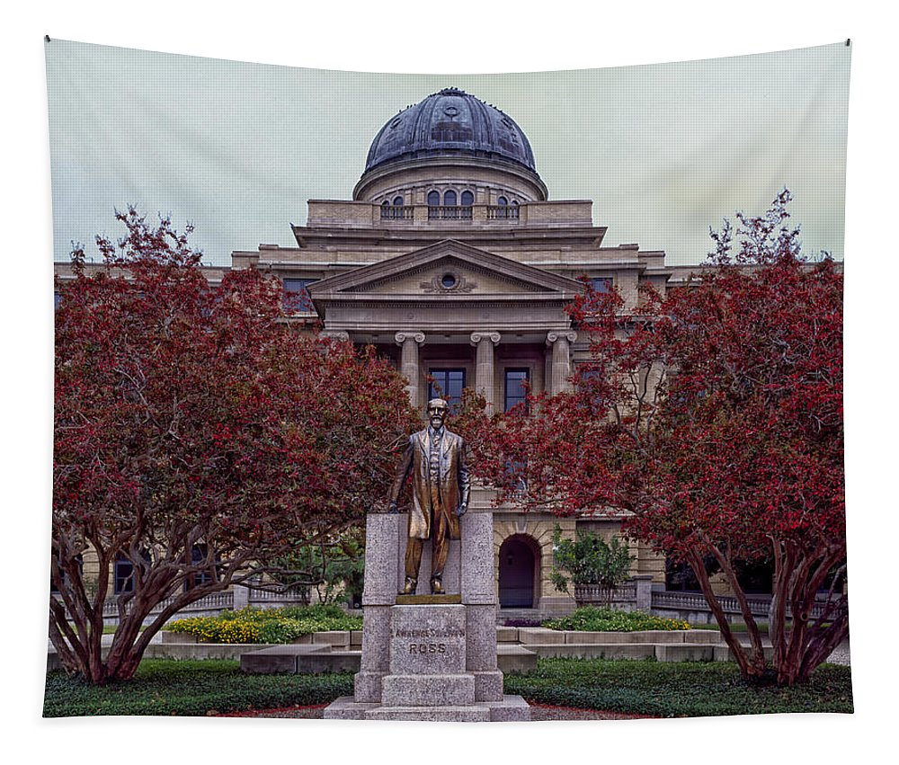 Texas A&m Tapestry featuring the photograph Campus Of Texas Am by Mountain Dreams
