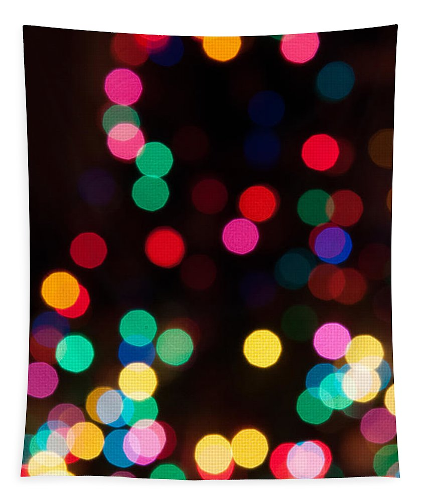 Holiday Tapestry featuring the photograph Candy Glowing by Dale Powell