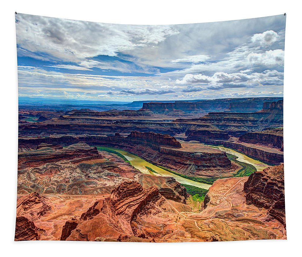 American Tapestry featuring the photograph Canyon Country by Chad Dutson