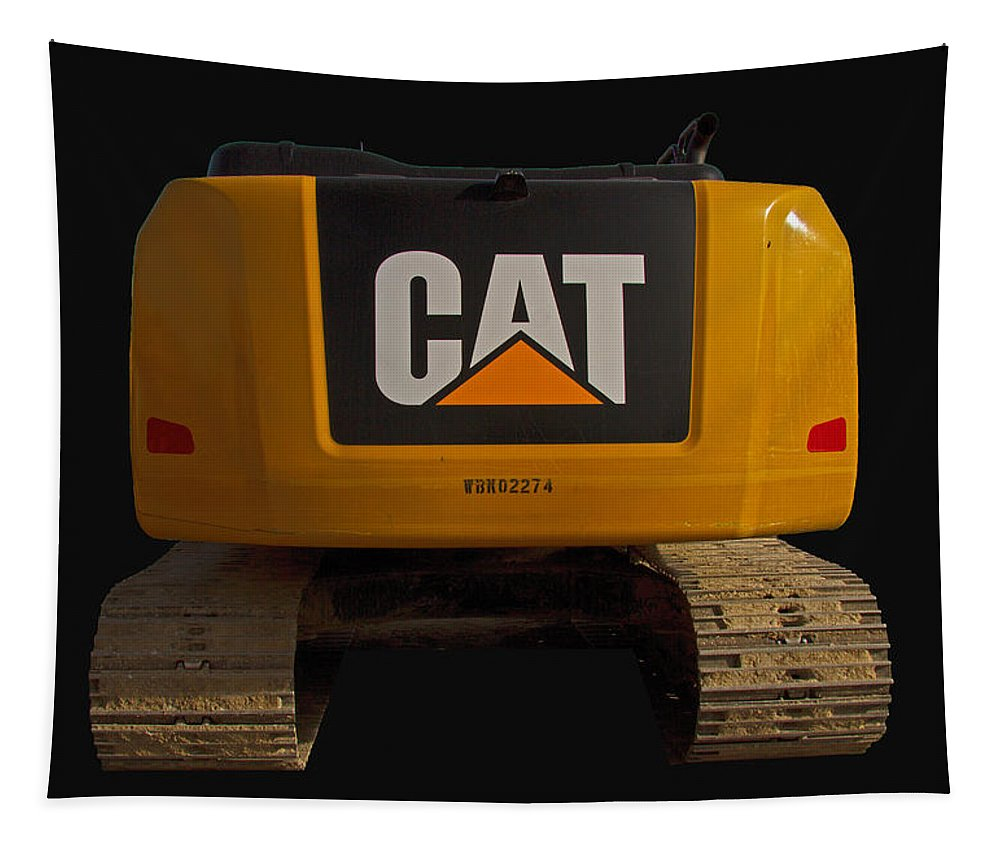 Cat Tapestry featuring the photograph Caterpillar by Nick Gray