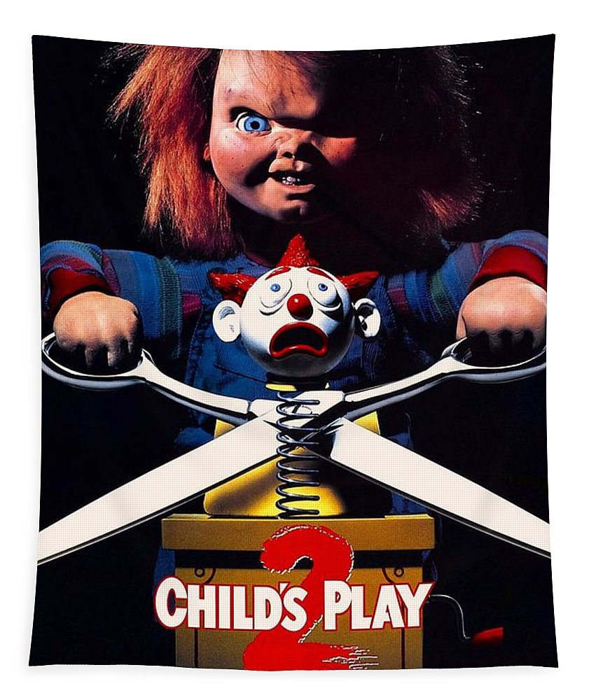 Childs Play Tapestry featuring the photograph Childs Play 2 by Movie Poster Prints