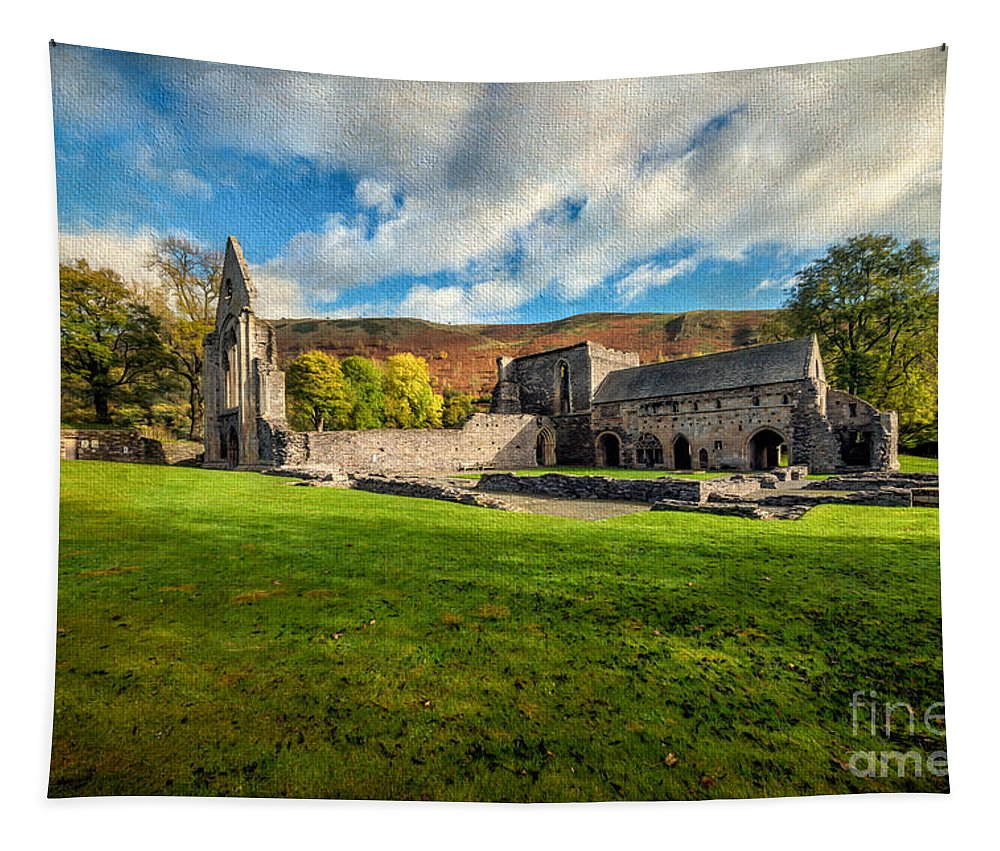 13th Century Tapestry featuring the photograph Church Of The Blessed Virgin Mary by Adrian Evans