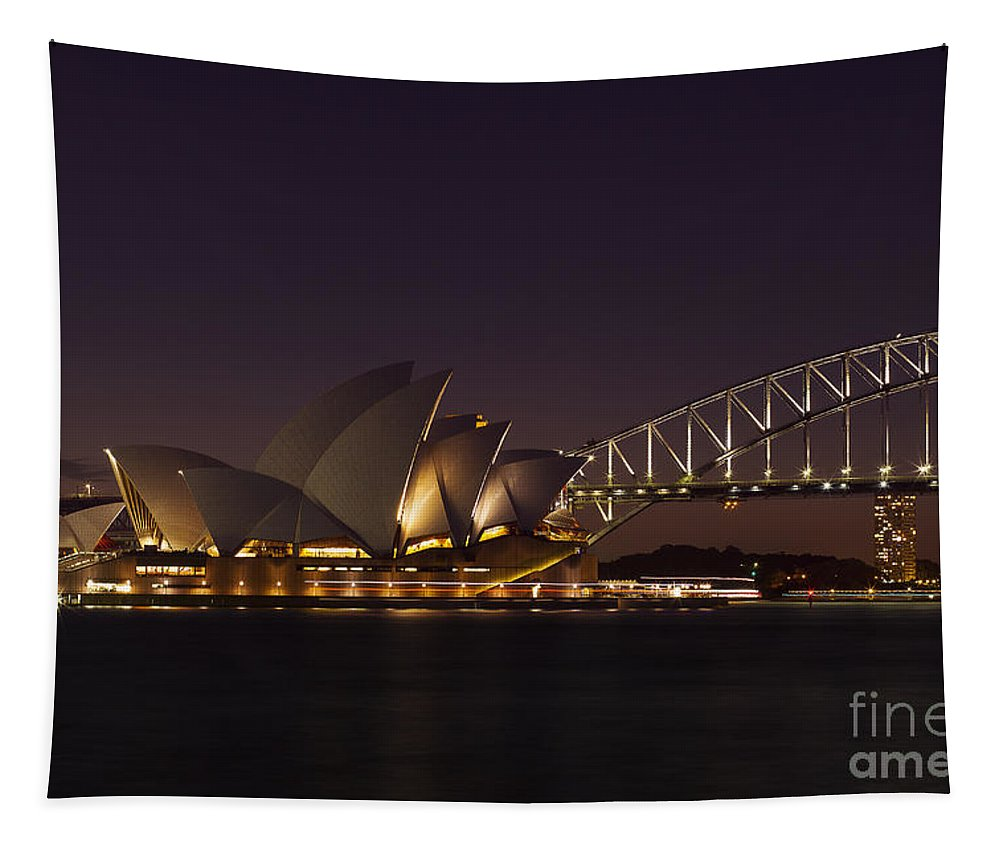 Sydney Tapestry featuring the photograph Classic Elegance by Andrew Paranavitana