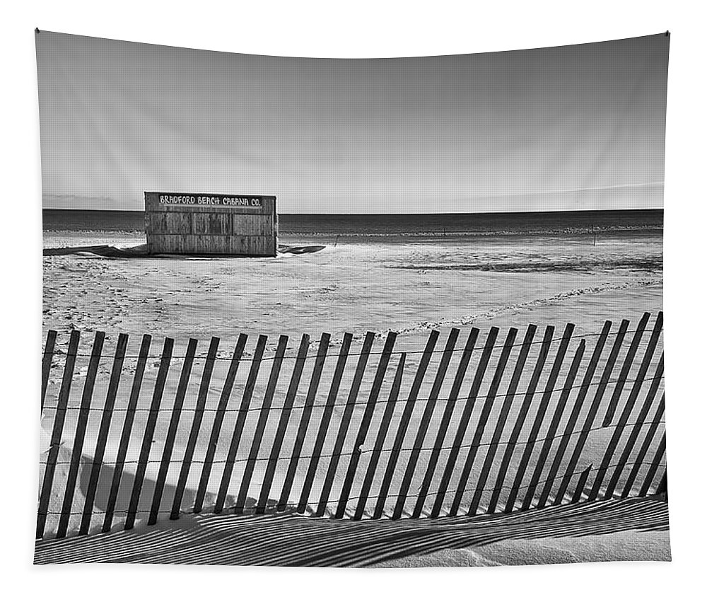 Beach Tapestry featuring the photograph Closed For The Season by Scott Norris