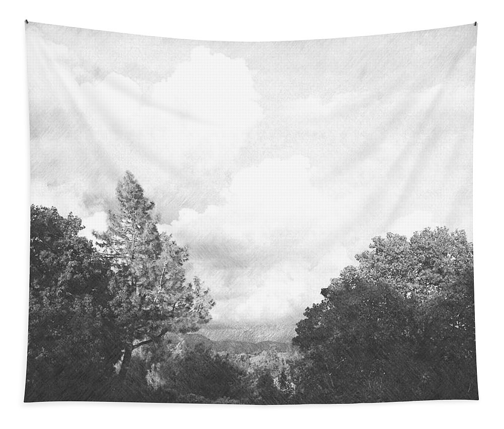 Clouds Tapestry featuring the photograph Clouds by Frank Wilson