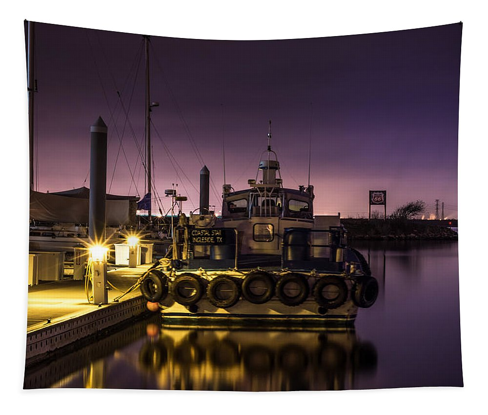 Coastal Star Tapestry featuring the photograph Coastal Star by David Morefield