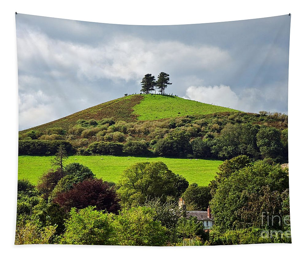 Colmers Hill Tapestry featuring the photograph Colmers Hill At Symondsbury by Susie Peek