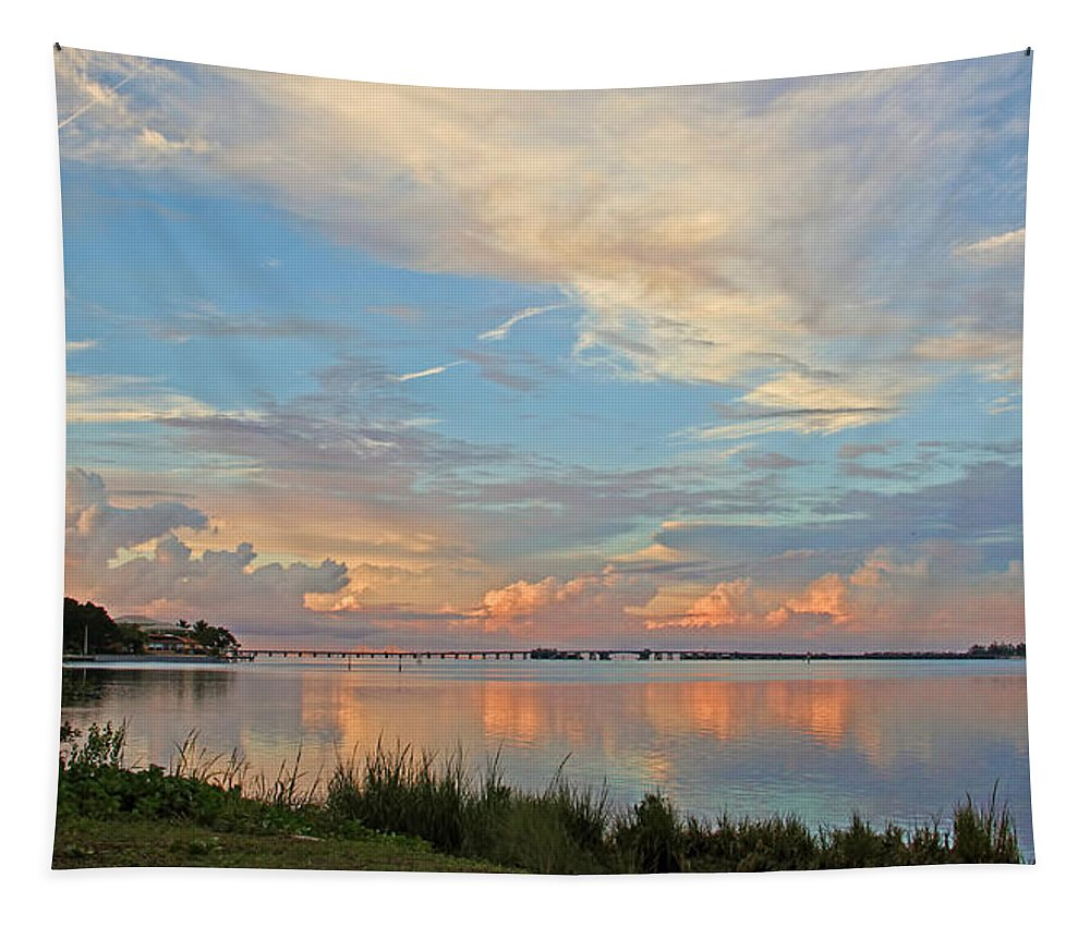 Anna Maria Island Fl Tapestry featuring the photograph Color My World by HH Photography of Florida