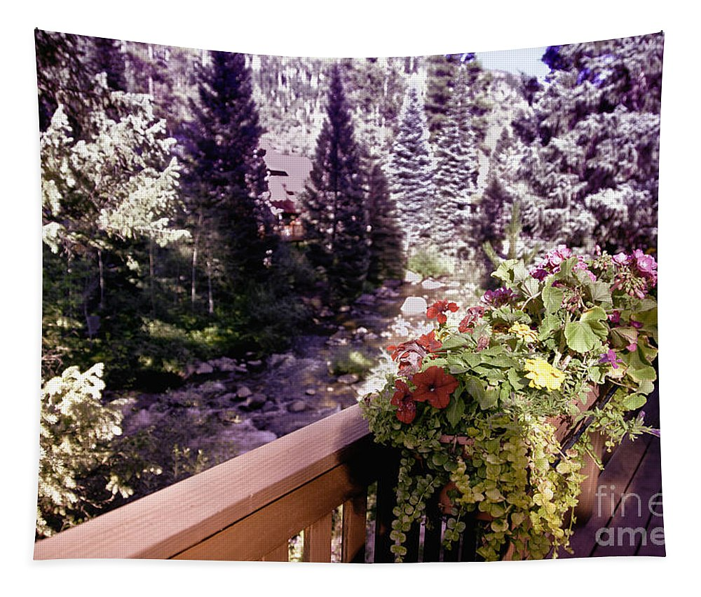 Vail Tapestry featuring the photograph Colorado Landscape by Madeline Ellis