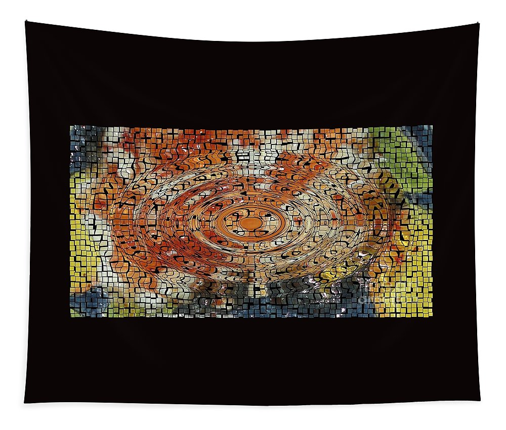 Shimmer Tapestry featuring the photograph Color Exploded by Joseph Baril