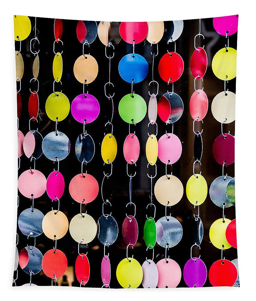 Circles Tapestry featuring the photograph Colourful Circles by Hakon Soreide