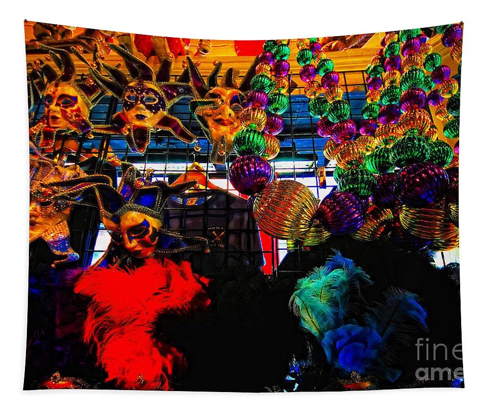 Colors Tapestry featuring the photograph Colours De Nola 2 by Robert McCubbin