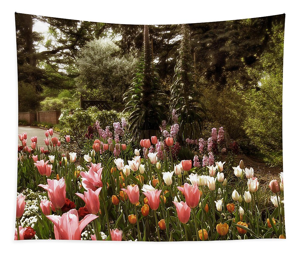 Landscape Tapestry featuring the photograph Come What May by Jessica Jenney