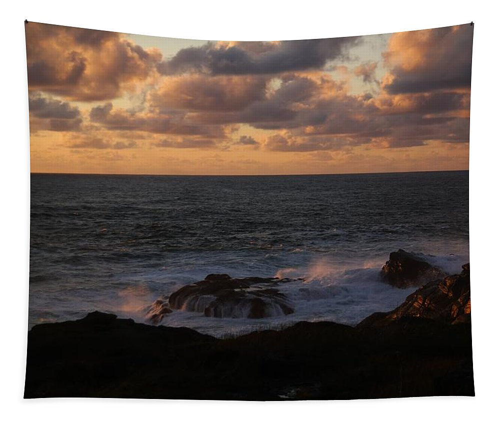 Ocean Tapestry featuring the photograph Contemplating In Paradise by Jeff Swan