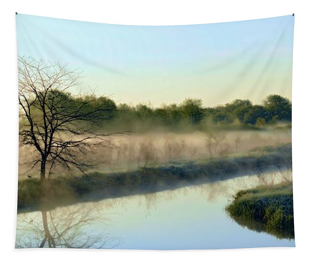 River Tapestry featuring the photograph Cool Dreams by Bonfire Photography