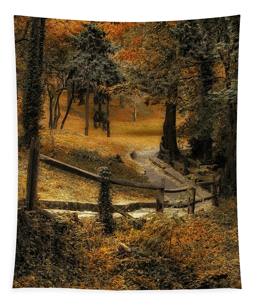 Seasons Tapestry featuring the photograph Copper Field by Jessica Jenney