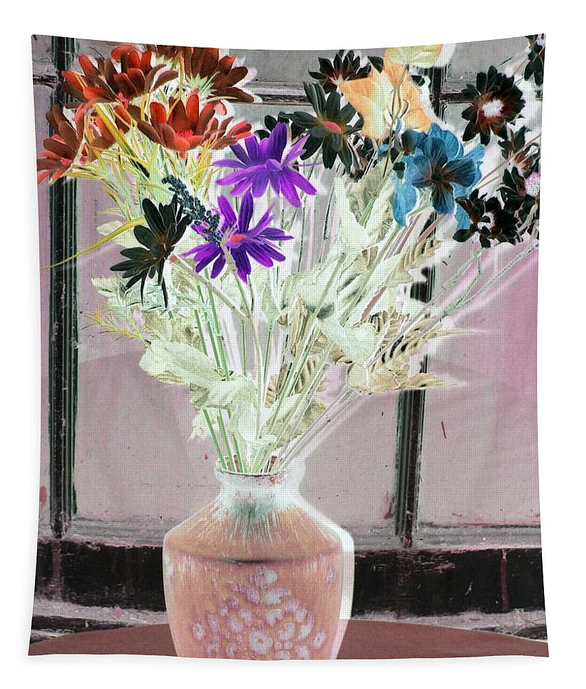 Flower Tapestry featuring the photograph Country Comfort - Photopower 454 by Pamela Critchlow